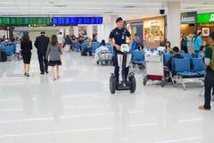 Aéroport de salle d'attente de Passsengers thailand Image libre de droits