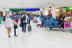 Aéroport de salle d'attente de personnes thailand Image stock