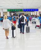 Aéroport de salle d'attente de personnes thailand Images libres de droits