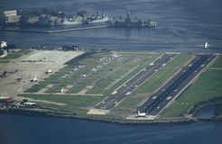 Aéroport de Santo Dumont, Rio de Janeiro Photographie stock