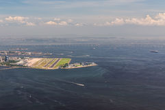 Aéroport de Santos Dumont en Rio de Janeiro Image libre de droits