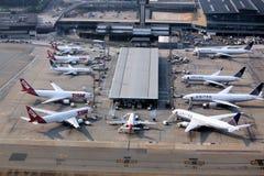 Aéroport de Sao Paulo Image stock