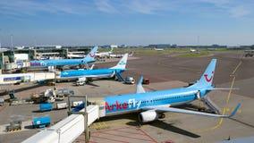 Aéroport de Schiphol Images libres de droits