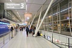Aéroport de Schiphol Photos libres de droits