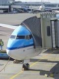 Aéroport de Schiphol, Amsterdam, Pays-Bas. Image stock
