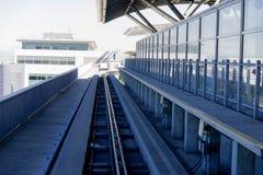 Aéroport de SFO Photos stock