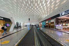 Aéroport de Shenzhen Image stock