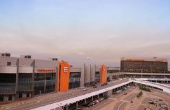 Aéroport de Sheremetievo Internaitonal, Moscou Photographie stock