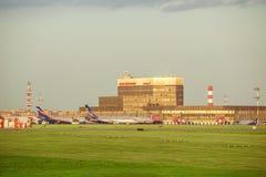 Aéroport de Sheremetyevo Image stock