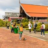 Aéroport de Siem Reap, Cambodge Images libres de droits