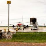 Aéroport de Siem Reap, Cambodge Photo libre de droits