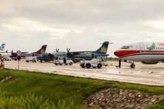 Aéroport de Siem Reap, Cambodge Photos stock