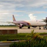 Aéroport de Siem Reap, Cambodge Image libre de droits