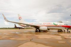 Aéroport de Siem Reap, Cambodge Photos libres de droits