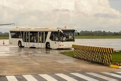 Aéroport de Siem Reap, Cambodge Photographie stock