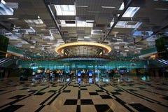 Aéroport de Singapour Photos libres de droits