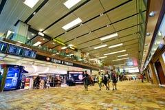 Aéroport de Singapour Changi Photographie stock libre de droits
