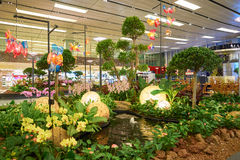Aéroport de Singapour Changi Photos stock