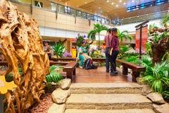 Aéroport de Singapour Changi Photo stock