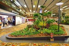 Aéroport de Singapour Changi Photographie stock