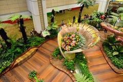Aéroport de Singapour Changi Image libre de droits