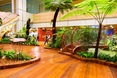 Aéroport de Singapour Changi Photo libre de droits