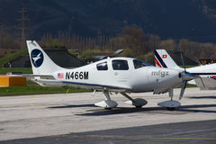 Aéroport de Sion Image libre de droits