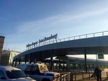 Aéroport de SPB image stock