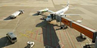 Aéroport de sseldorf de ¼ de DÃ Photographie stock libre de droits