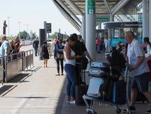Aéroport de Stansted à Londres, R-U Photos libres de droits