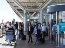 Aéroport de Stansted à Londres, R-U Photographie stock libre de droits
