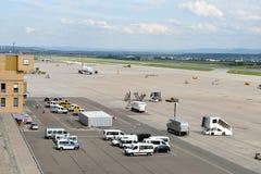 Aéroport de Stuttgart Photo libre de droits