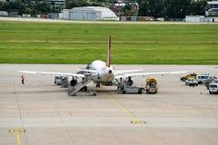 Aéroport de Stuttgart Images libres de droits
