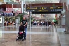 Aéroport de sud de Ténérife Images libres de droits