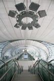Aéroport de Suvanabhumi de la Thaïlande Images libres de droits