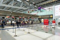 Aéroport de Suvarnabhumi Photo libre de droits