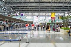Aéroport de Suvarnabhumi Photos libres de droits
