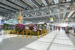 Aéroport de Suvarnabhumi Photographie stock libre de droits