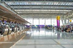 Aéroport de Suvarnabhumi Photo stock