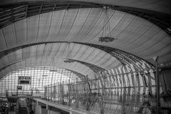 Aéroport de Suvarnabhumi. Image libre de droits