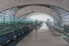 Aéroport de Suvarnabhumi Image libre de droits