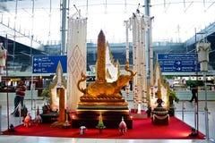 Aéroport de Suvarnabhumi, Bangkok Images libres de droits