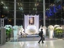 Aéroport de Suvarnabhumi, Bangkok Photo libre de droits