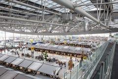 Aéroport de Suvarnabhumi : Matin d'intérieur Photographie stock libre de droits