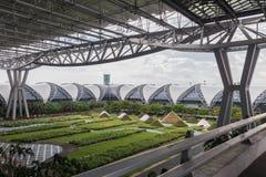 Aéroport de Suvarnabhumi : Matin extérieur Photo libre de droits