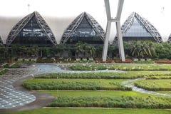 Aéroport de Suvarnabhumi : Matin extérieur Images stock