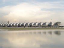 Aéroport de Suwannabhumi, Bangkok Thaïlande Image libre de droits