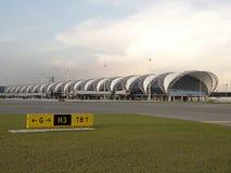 Aéroport de Suwannabhumi, Bangkok Thaïlande Images stock
