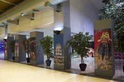 Aéroport de Taïpeh de peintures chinoises Images stock