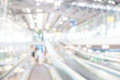 Aéroport de tache floue Image libre de droits